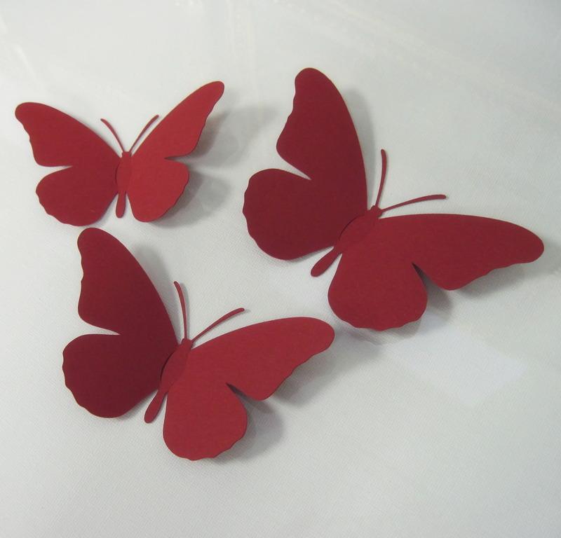 Бабочки своими руками из бумаги красивые мастер класс 18
